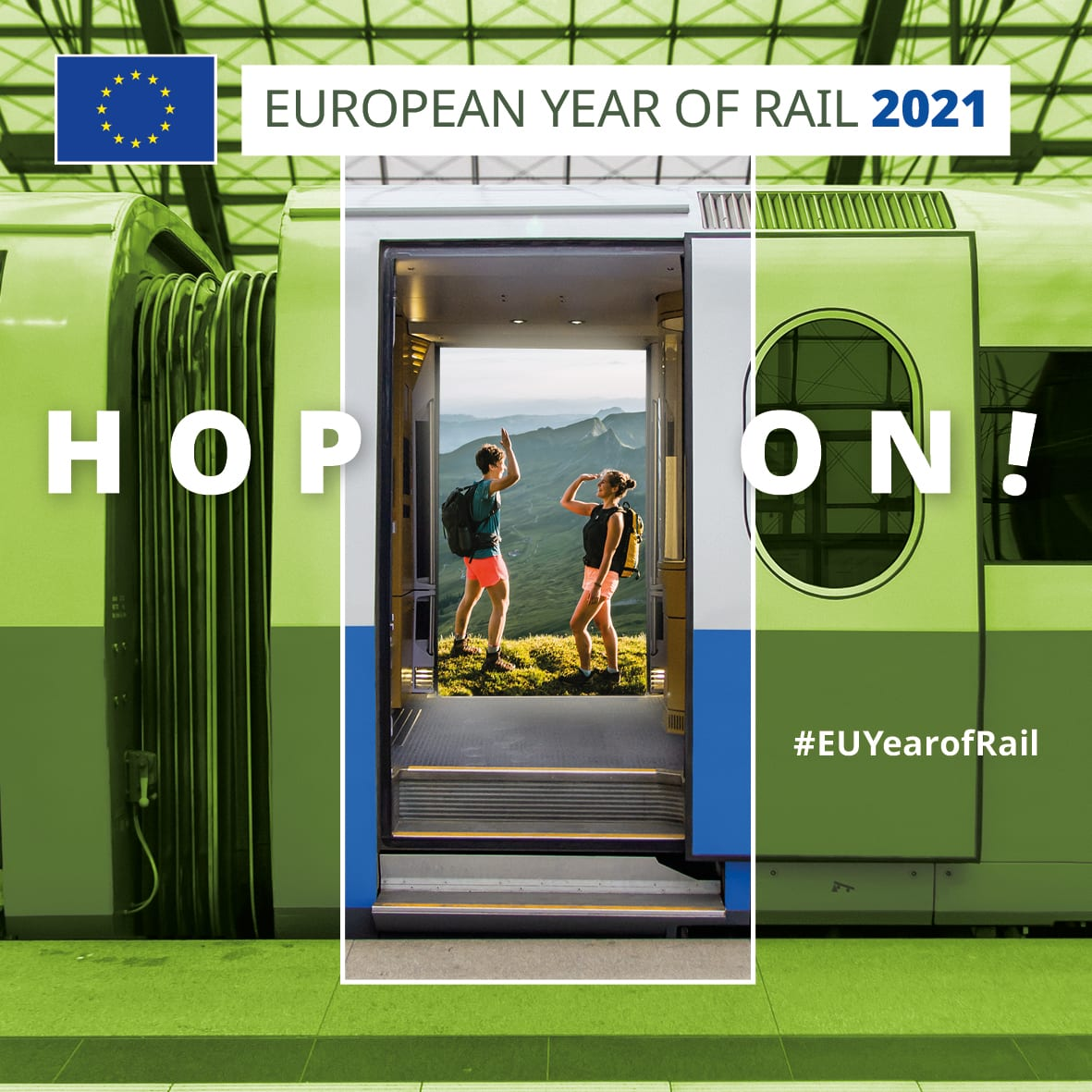 OXplus welcomes the European Year of Rail!